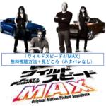 ワイルドスピード4/MAX